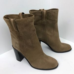 New Kate Spade New York Suede Baise Booties 10